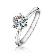 铂金品牌 铂金钻石戒指