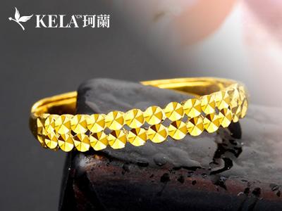 结婚戒指黄金类戒指的价格