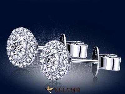 彩金耳环时尚与魅力并存