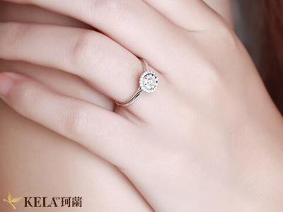 女生戒指戴法
