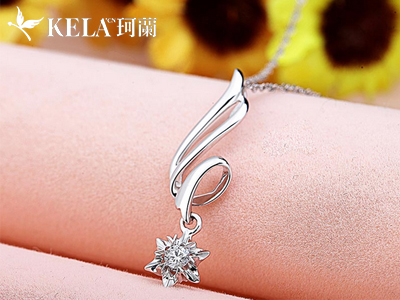 天使之翼钻石项链让你的童话成真