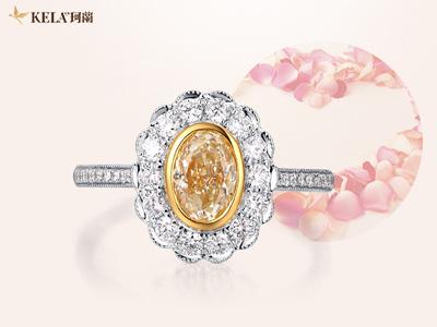 彩钻戒指大概多少钱呢