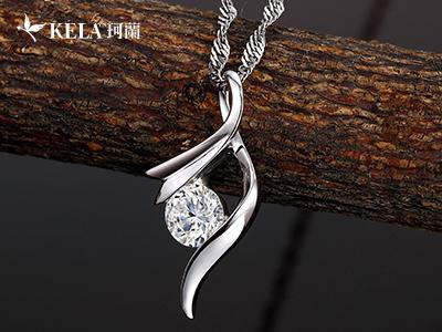 美丽诱人的钻石吊坠图片