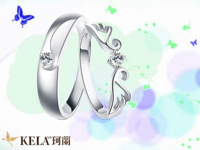 白金戒指款式欣赏