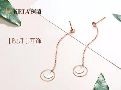 彩金耳钉与耳环的区别 彩金耳钉镶钻款式