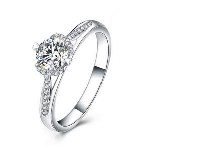 铂金戒指品牌 珂兰铂金戒指款式