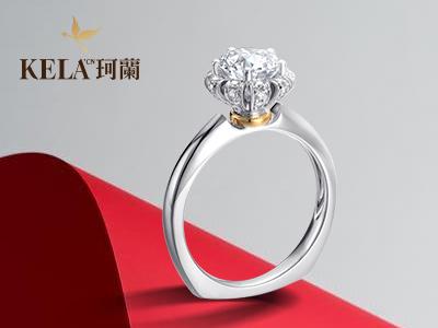 钻石戒指图片女款群镶和简单款的区别