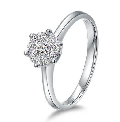 钻石戒指 八角钻