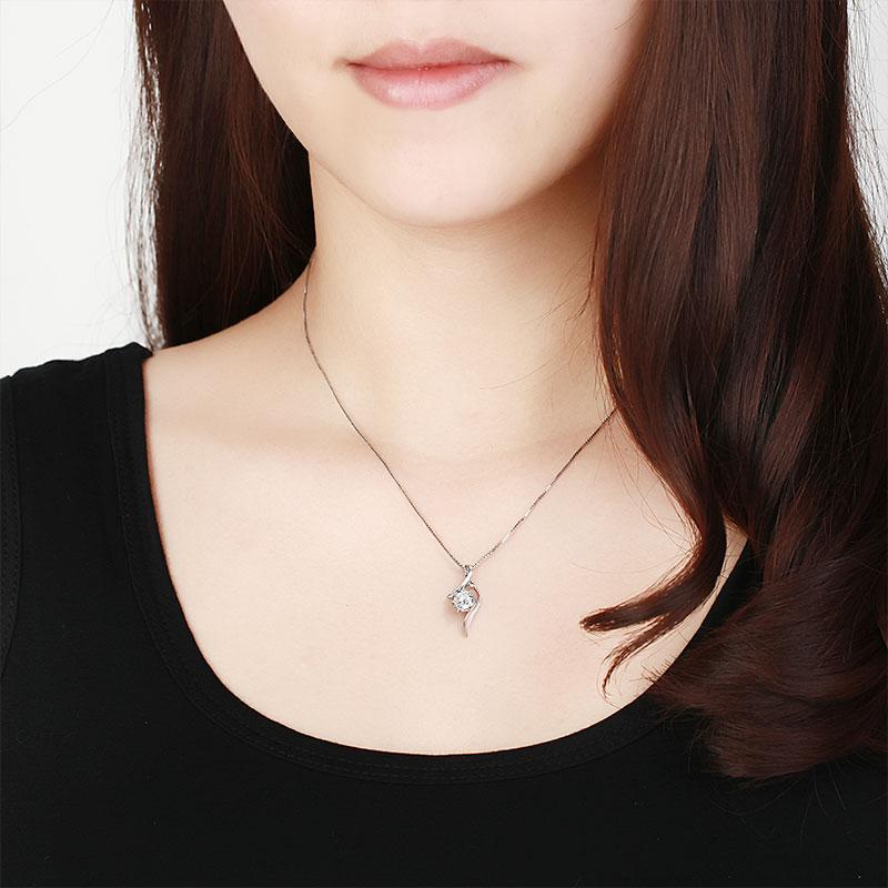 雪花舞绫 白18K金/PT950钻石...