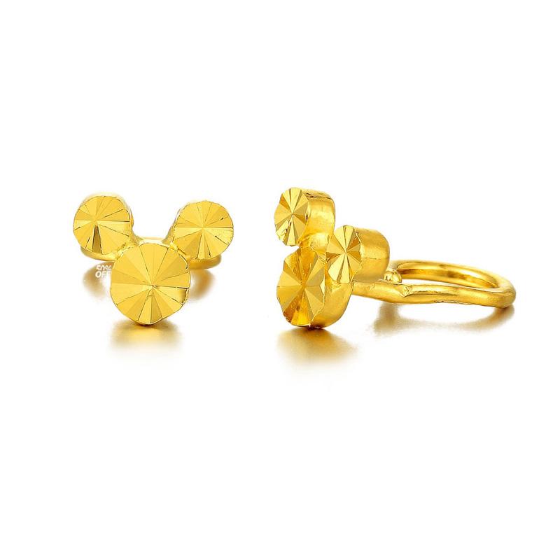 米奇 黄金时尚耳钉