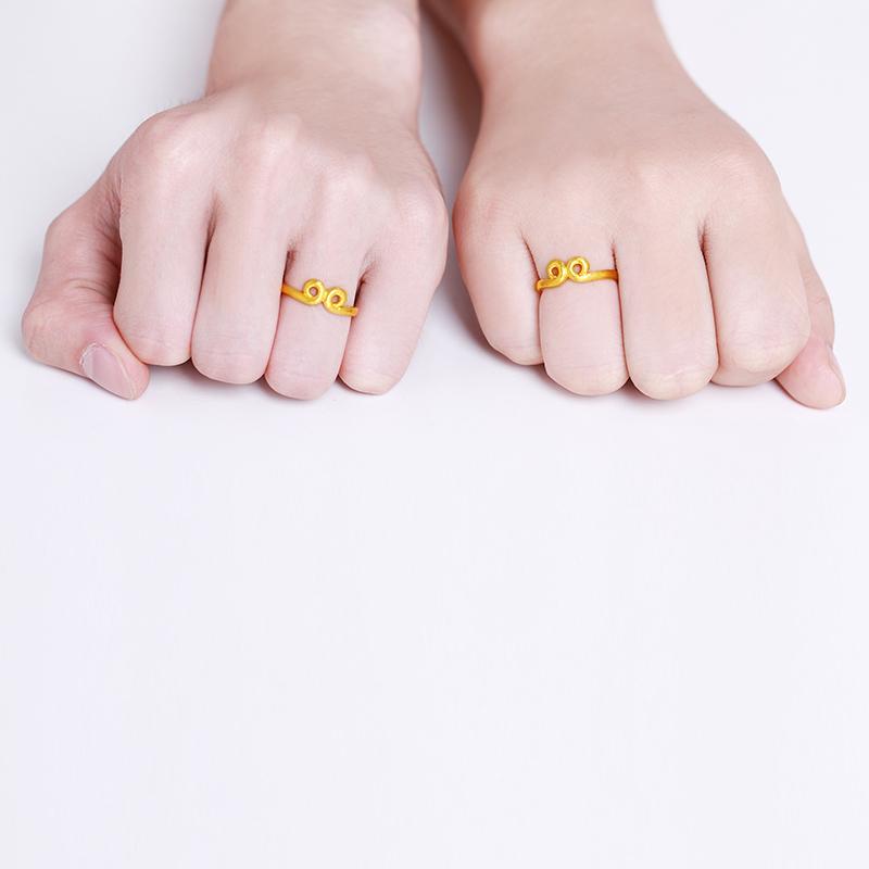 金箍咒 黄金戒指【西游记系列】H