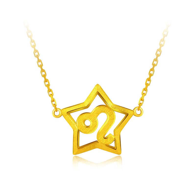 狮子座 黄金套链【十二星座系列新品】H