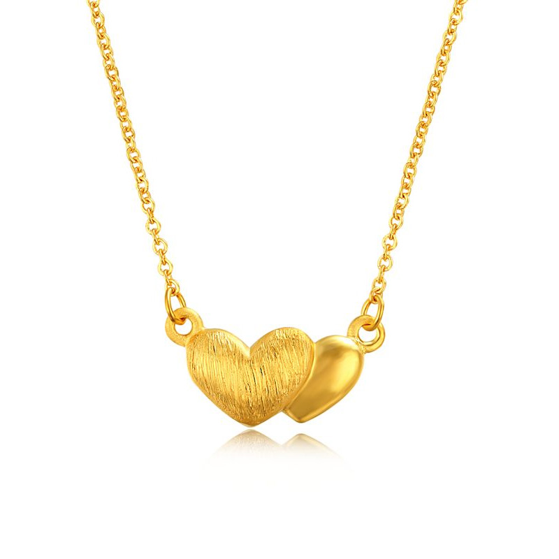 双心套链 黄金套链H