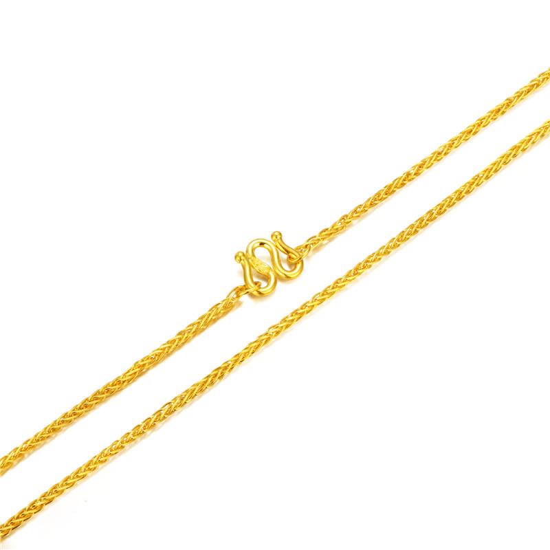肖邦链 黄金女士项链H