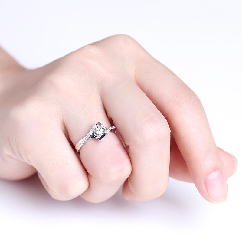 圣洁天使 18K金/PT950钻石女...