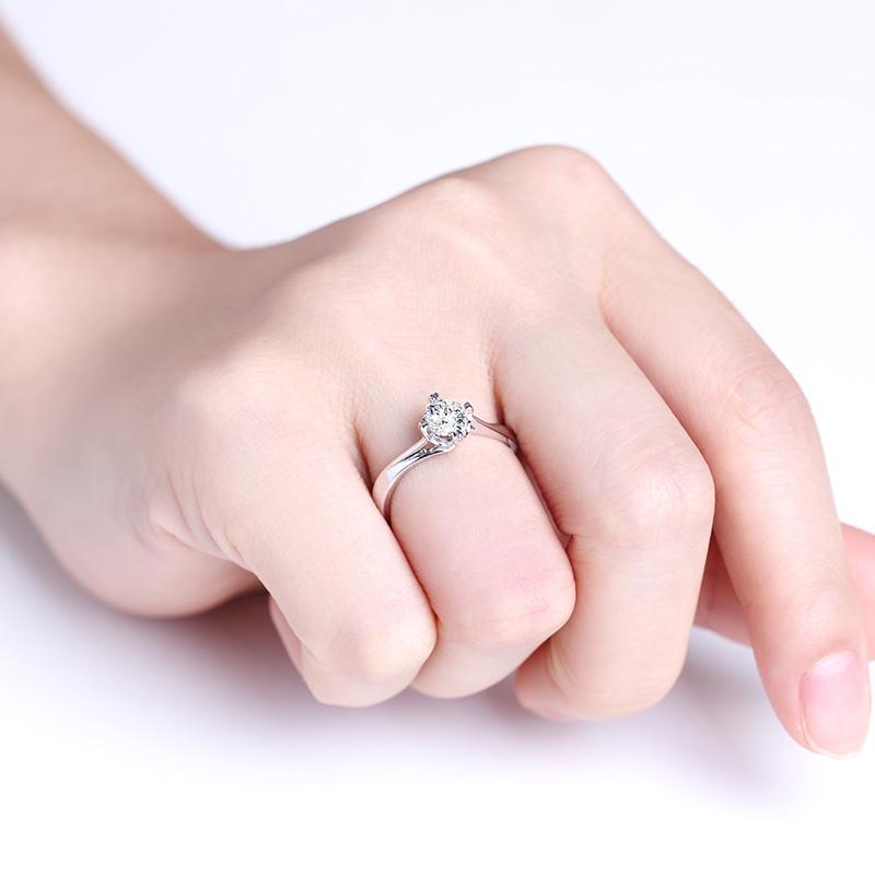 一生所爱 18K金/PT950钻石女...