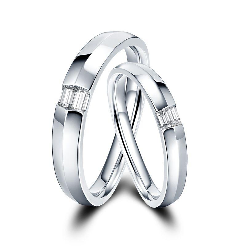 恒久爱系列-迷恋 18K金钻石对戒