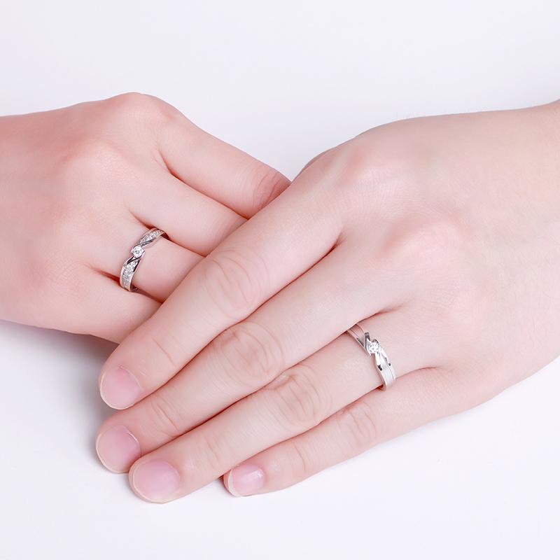 守护·爱情 18K金钻石对戒