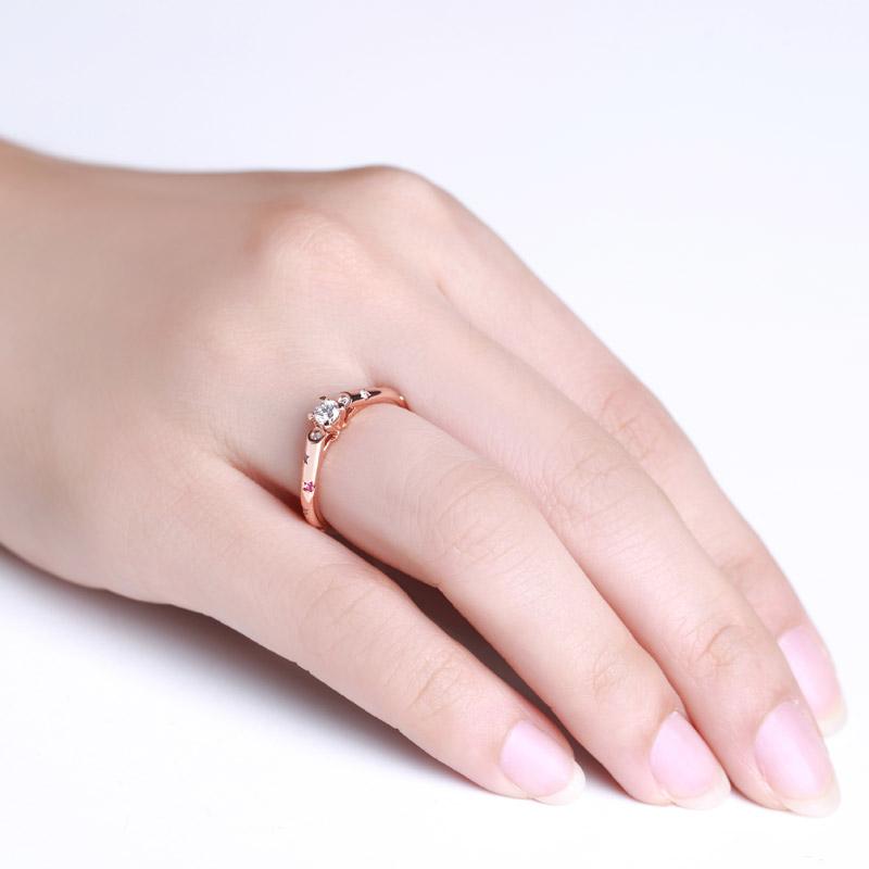 天生一对系列-华尔兹 18K金钻石女...