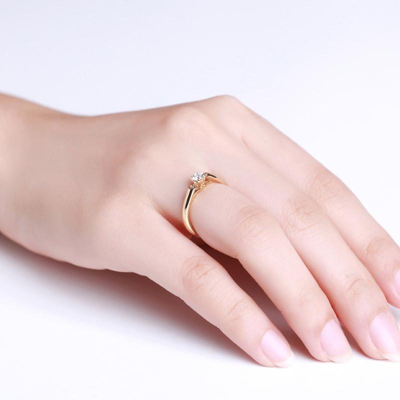 天生一对系列-梦幻芭蕾 18K金钻石...